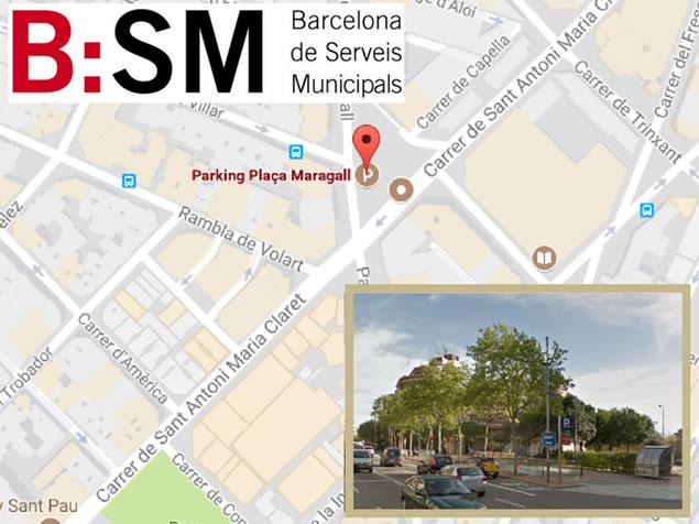 LaClinic Barcelona - Medicina Estética y Depilación Láser - Ubicación Parking
