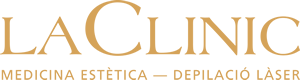 LaClinic Logo Dorado