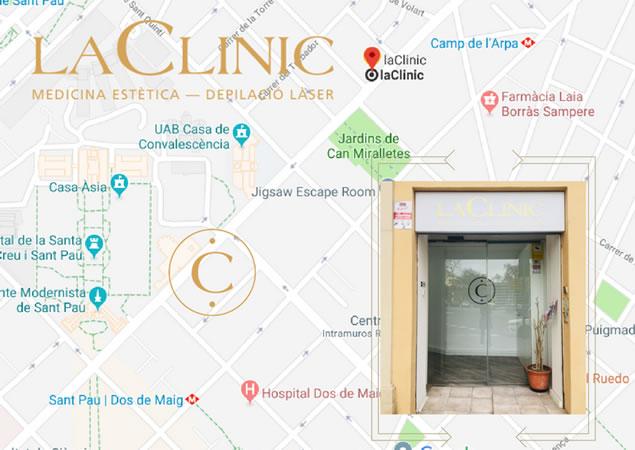 laClinic - Mapa