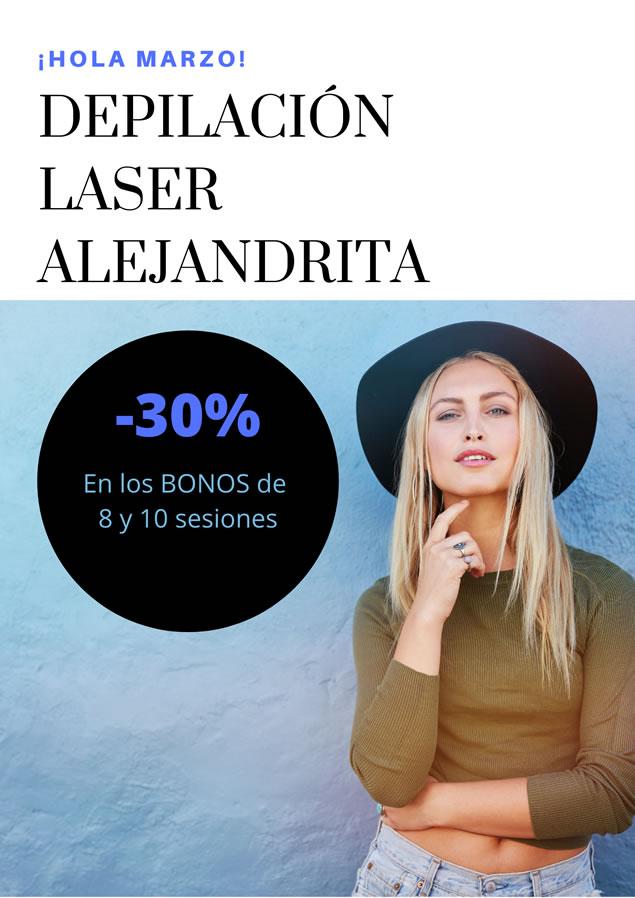 LaClinic - Promociones Marzo - Depilacion Laser Alejandrita