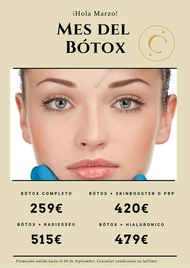 LaClinic - Promociones Marzo - Mes Botox