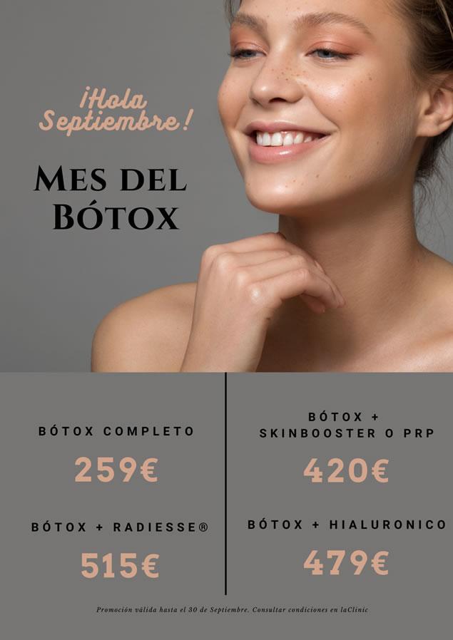LaClinic - Promociones Septiembre - Botox